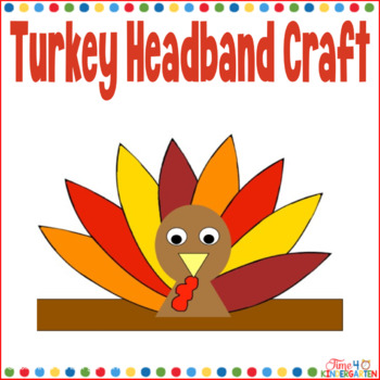 Turkey Headband Craftivity