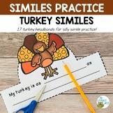 Writing Activities: Thanksgiving Headbands | Simile Practi