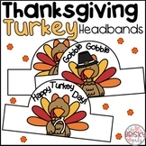 Turkey Headbands (Thanksgiving Headbands)