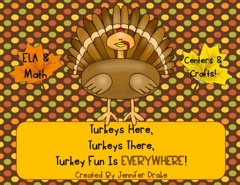 Turkey Here, Turkey There, Turkey Fun Is Everywhere! ~Thanksgiving Fun!