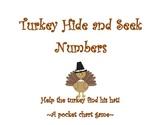 Turkey Hide and Seek: A Number Pocket Chart Game