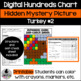 Turkey Hundreds Chart Hidden Picture Activity #2  for Thanksgiving Math