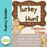 Turkey Hunt: Multiplication & Division Scavenger Hunt