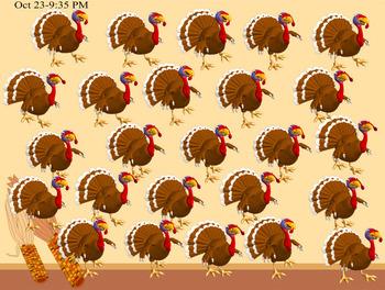 Turkey Hunt Trivia Game