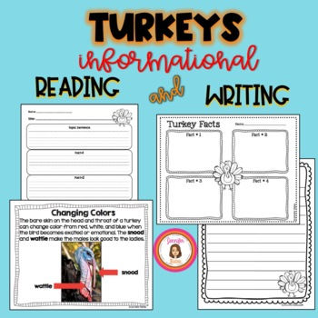Turkey Informative Reading and Writing