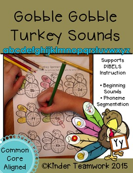 Turkey Initial Sounds and CVC Phoneme Segmentation