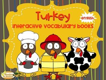 Turkey – Interactive Vocabulary Books - English version