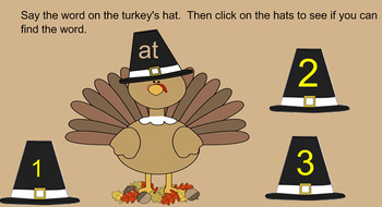 Turkey Kindergarten Sight Words