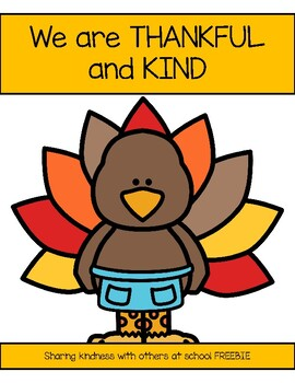 Turkey Kindness Freebie