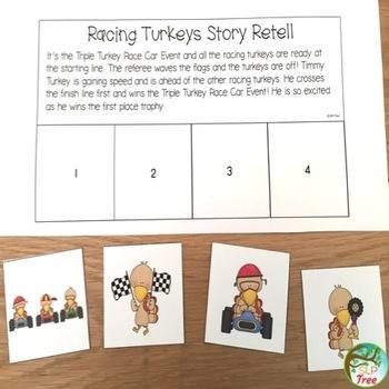 Turkey Language Thanksgiving Speech Therapy