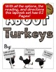 Turkey Lapbook with Reading - Complete Unit!