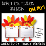 Turkey Legs, Feathers, & Beak OH MY!  {Thanksgiving Crafti