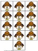 Turkey Letter Match File Folder Game