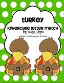 Turkey Letter Match Lowercase Letters