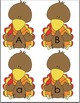 Turkey Letter Match Uppercase and Lowercase