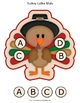 Turkey Letter Mats Uppercase / Lowercase