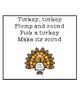 Turkey Letter Sounds