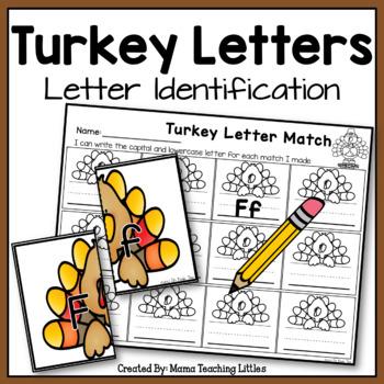 Turkey Letters - Letter Identification