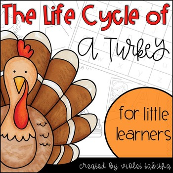 Turkey Life Cycle Unit and Activities