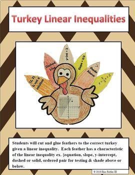 Linear Inequalities Turkeys