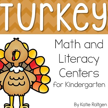 Turkey Math & Literacy Centers