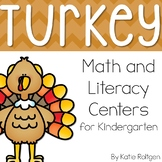 Turkey Math & Literacy Centers
