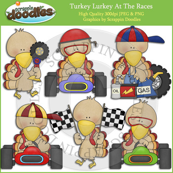 Turkey Lurkey At The Races