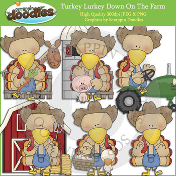 Turkey Lurkey Down On The Farm