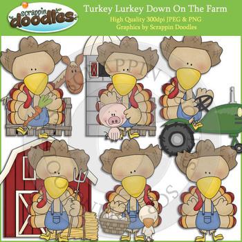 Turkey Lurkey Down On The Farm