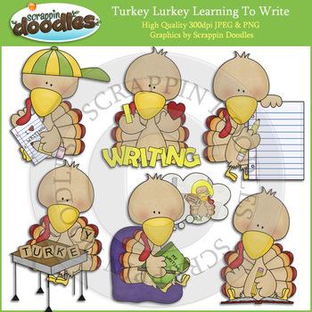 Turkey Lurkey Learning To Write