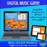 Turkey Lurkey Musical Math | Digital Games AND Printable B