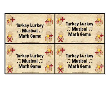 Turkey Lurkey Musical Math Game