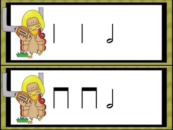 Turkey-Lurkey Rhythm Blitz: a Collection of Games for half note