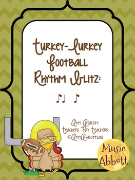 Turkey-Lurkey Rhythm Blitz: a Collection of Games for syncopa