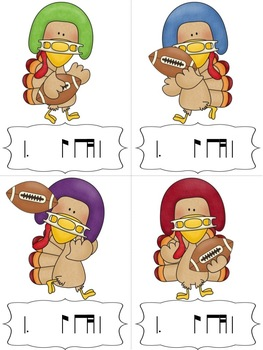 Turkey-Lurkey Rhythm Blitz: a Collection of Games for tom-ti