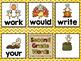 Turkey Lurkey Sight Word Game - ALL 220 Dolch Words!