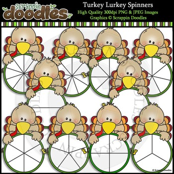 Turkey Lurkey Spinners