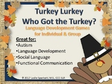 Turkey Lurkey, Who Got the Turkey? Games for Language Concepts