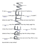 Turkey Mad Libs - Nouns and Adjectives