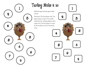 Turkey Make a 10