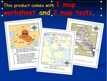 Turkey Map Activities