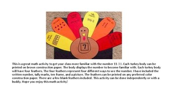 Turkey Math 11-30