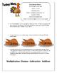 Thanksgiving Turkey, cooking Math