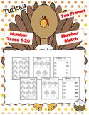 Turkey Math Activities- No Prep!