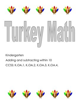 Turkey Math-Add and subtract within 10