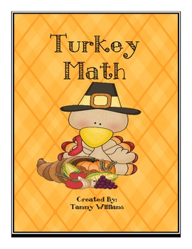 Turkey Math Addition and Graphing Fun!