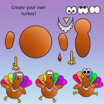 Turkey Math Clipart