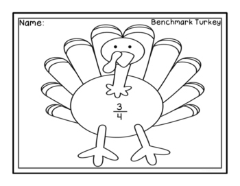 Thanksgiving Math -Benchmark Fractions, Multiples, Division
