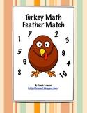 Turkey Math: Feather Match