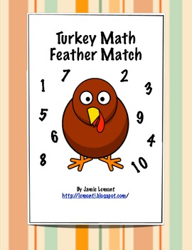 Turkey Math: Feather Match